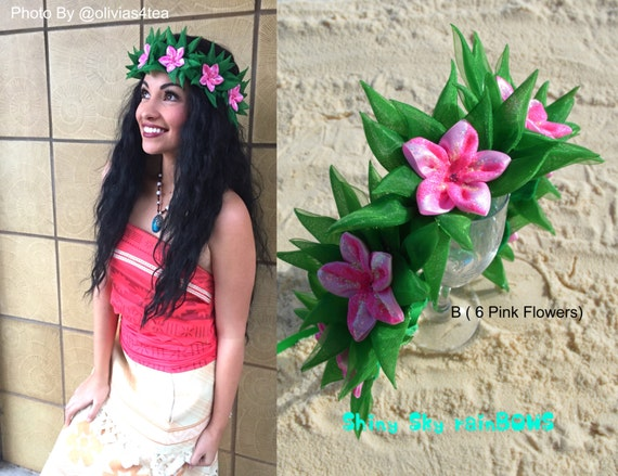 Moana Flower Head Garlands