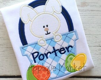 Customiziable Easter Shirt, Onesie, Appliqued,