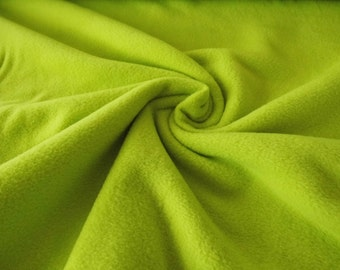 Anti-pilling fleece fern Green