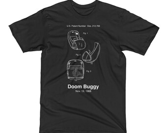 Doom Buggy Haunted Mansion Patent T-Shirt from Magic Kingdom, Liberty Square, Walt Disney World and Disneyland - A Retrocot Original