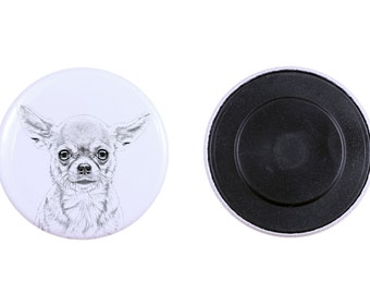 Magnet with a dog - Chihuahua