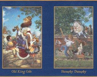 King Cole Peter Pumpkin B103344 Wallpaper Border