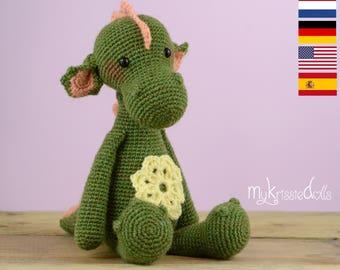 Crochet Pattern - Dragon Julia