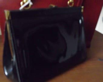 Vintage Handbag sale  Black jane shilton kelly style bag
