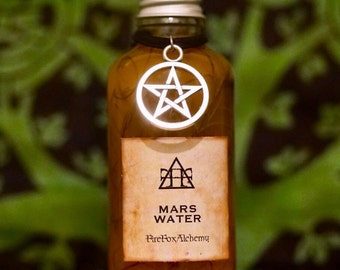 Mars Water, Aggressive Spiritual Protection, Hoodoo