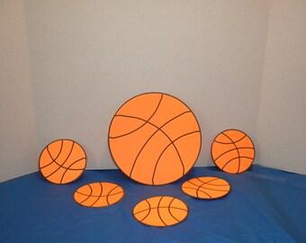 Basketball Die Cut,Die Cuts, Basketballs, Sports Die cuts, Embellishments, Slam Dunk,