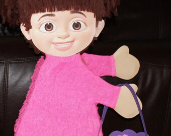 Monsters Inc or Monsters University Pinatas - Mike or Boo pinatas