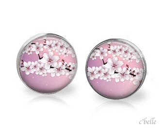 Earrings cherry blossoms 65