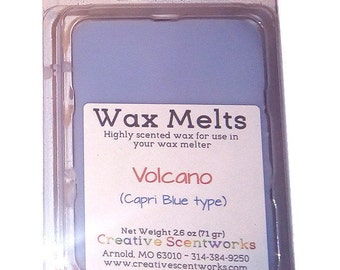 Volcano (Capri Blue Type) Scented Wax Melts, Wax Tart, Wickless Candle, Melting Wax, Designer Fragrance