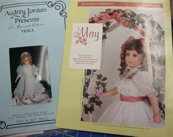 doll clothing patterns set 6