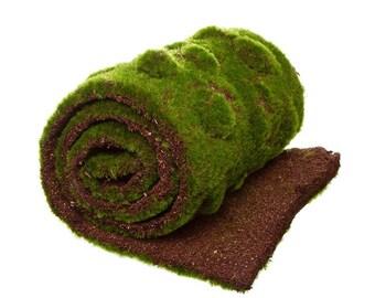 Moss Mat Artificial Grass Roll Fake Grass 30cm wide x 150cm long