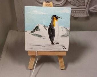 Penguin mini art