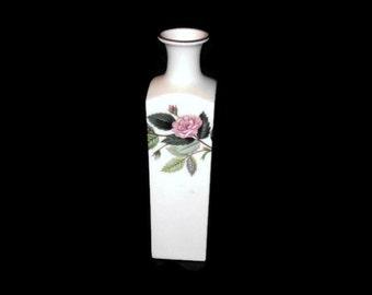 Vintage Wedgewood Vase,  Hathaway Rose Design, Vintage Vase, Home Decor, Collectible Vase, Vintage Home Decor, Vase, Bud Vase
