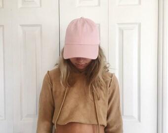 Baby Pink Baseball Hat
