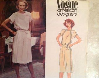 Vogue 2640 Albert Nippon Design 1980s Size 12