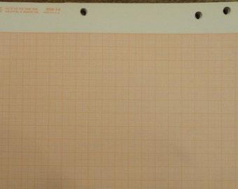Square grid cross section graph paper, Keuffel & Esser 359-14
