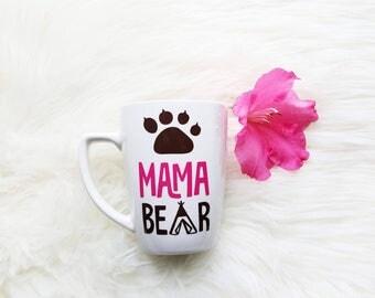 mama bear mug/mama bear coffee mug/mama bear cup/mama bear gift/momma bear mug/momma bear cup/momma bear decal/mug for mom/mom coffee mug