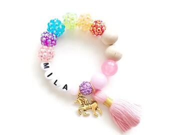 New Rainbow Unicorn bracelet