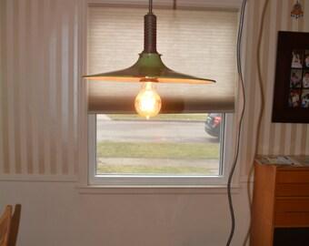 Green Industrial Shop Light