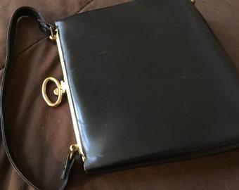 Vintage Leather Handbag Purse