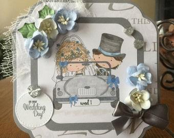 Wedding Handmade Greeting Card
