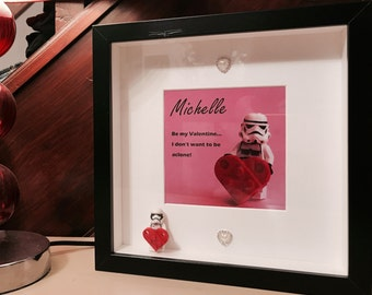 Star Wars Birthday Gift - Brick Frame - Personalised!