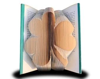 Book folding Clover (Pattern)
