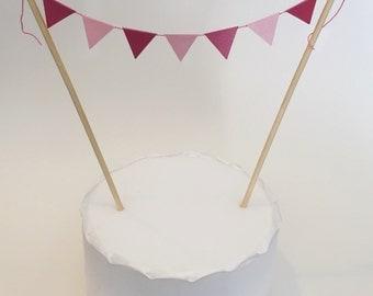 Mini Bunting Cake Topper