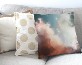 Abstract Art Cushion Cover - Original Art Throw Pillow - Hand Painted Design