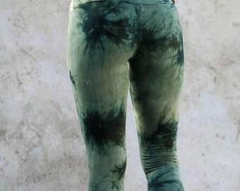 Batik Leggings green, perfect fit