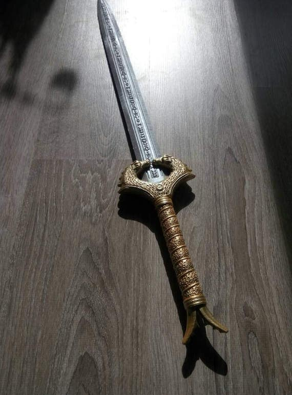 Wonder Woman HD Sword for 3D-printing from MaxCrft on Etsy ...