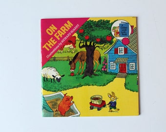 On The Farm Illustrations by Richard Scarry 1976