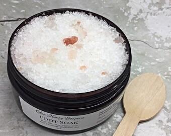 Foot Bath Salt, Pain Relief Salt , Detox Bath Salt