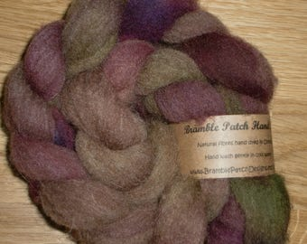 Manx Loaghtan British Rare Breed Hand Dyed Combed Top for Spinning and Felting 100g