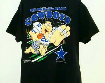 Dallas Cowboys, The Flintstones, Dallas Cowboys Shirt, Vintage Football Shirts