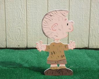 Peanuts Pig Pen Yard Sign
