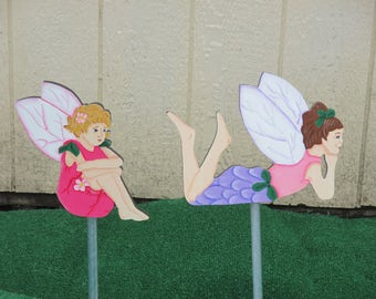Garden Fairy Yard Signs