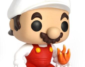 Custom out Pop - fire Mario