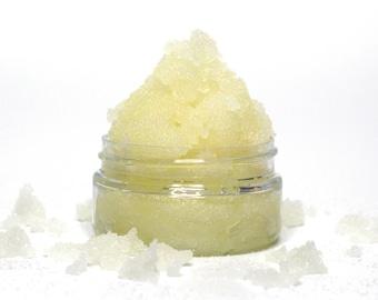 Vanilla Sugar Scrub  - Choose Size - Exfoliating Body Scrub, Face Scrub, Moisturizing Sugar Scrub.
