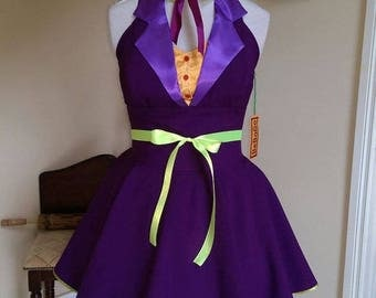 Cosplay dress The Joker Dress,MADE TO MEASURE!!