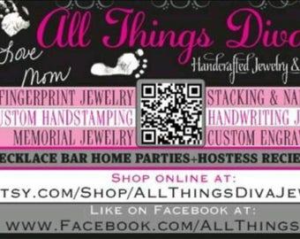 Private listing for:SierraEllis_.999 solid fine silver fingerprint+name spinner ring
