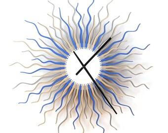 Horloge murale géant - Medusa arctique L / XL / XXL