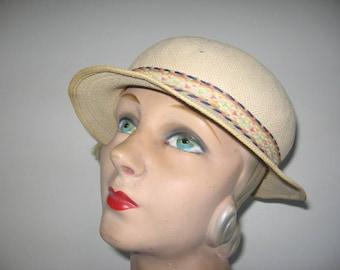 1930's Genuine Panama Straw Bowler Hat!