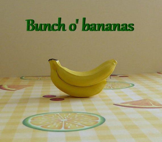 Banana silicone mold cake tool fondant chocolate candy polymer - Banana cake decoration ...