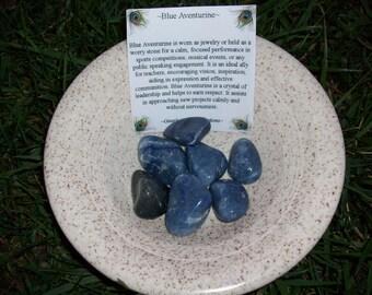 Blue Aventurine Tumbled Stones
