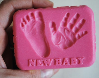 1 x Baby shower soap-New baby soap, baby party
