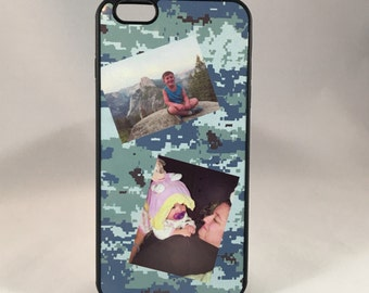 Custom Photo Phone Case for iPhone ( 4, 5, 5S, 6, 6+, 6S, 6S+, 7, 7+, 8, 8+ and 10) Galaxy S4, S5, S6, S7, S8)