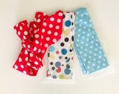 SALE - Mixed  Polka Dot Headwrap /cotton headbands / cotton turbans / head wraps / headband pack of 3
