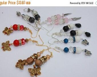 VALENTINE SALE 25% Trending Bridesmaid coral earrings ask bridesmaid boho red dangle earrings Healing Earrings evil eye protection golden re