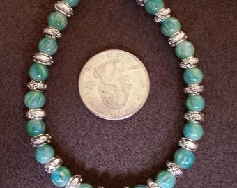 Green Beaded Bracelet102